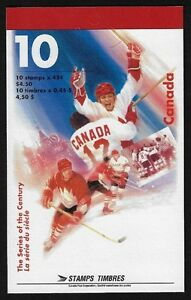 Stamps Canada Hockey: The Series of the Century #1660a (BK201)