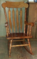 Solid Wood Rocking for Sale