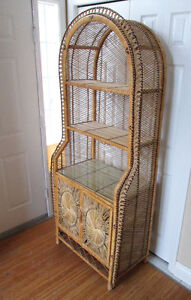 Beautiful Wicker Storage unit with loads of storage