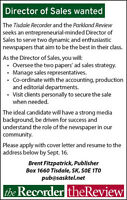 Director of sales wanted