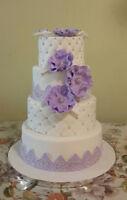 wedding cakes/Gâteaux pour mariages...