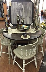Dining Room Table & Chairs Rustic Farmhouse