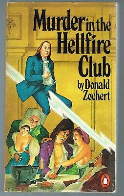 Murder In The Hellfire Club By Donald Zochert  1980  Paperback Inscribed