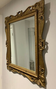 gold mirror antique