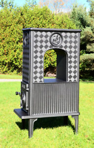 NEW JOTUL MODEL 606 CAST IRON WOOD BURNING ARCH STOVE