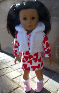 Hand made Doll Clothes for American Girl or other 18 inch dolls