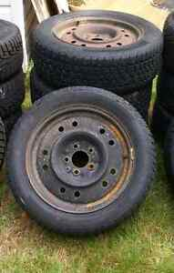 16in winter studded Mazda 3 tires and rims