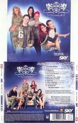 RBD LA FAMILIA Mexican BRAND NEW CD w/Exclusive track rare cd QUIERO PODER