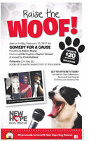Raise The Woof Comedy Night