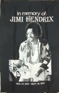 Jimi Hendrix Extra Large Memorial Wall Banner London Ontario image 1