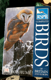Large thick RSPB complete Birds