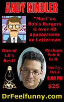 ANDY KINDLER LIVE IN THE FOREST CITY!