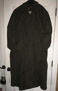 Men's Winter Trench Coat