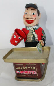 Antique Japan Toy Crapshooter Cragstan Battery Operated Old