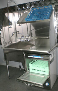 LAVE VAISSELLE * LAMBER * NEUF * NEW * COMMERCIAL DISHWASHER