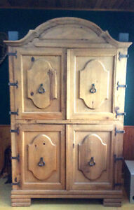 Mexican Pine Armoire- REDUCED!