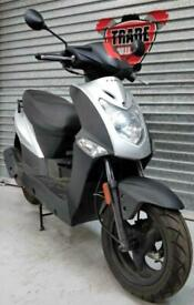 2013 13 KYMCO AGILITY 125 SCOOTER PROJECT TRADE SALE LEARNER LEGAL SILVER NEWMOT