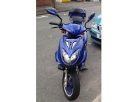 Direct bikes 50cc Ninja moped
