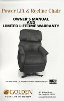 LIKE NEW POWER LIFT AND RECLINE CHAIR FOR SALE
