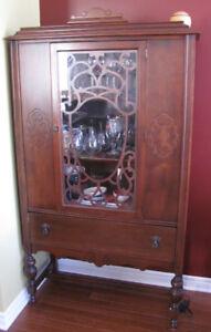 Antique Kitchen Hutch