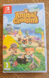 Animal Crossing New Horizons (Nintendo Switch) - new and sealed