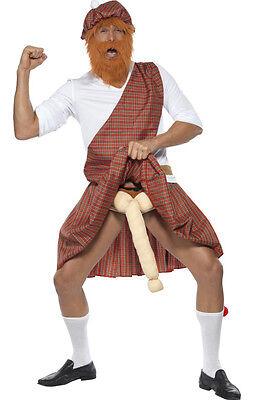 Gut bestückter Schotte Kostüm Highlander NEU - Herren Karneval Fasching - Gute Herren Kostüm