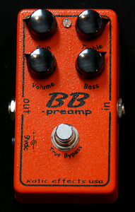 Xotic BB Preamp boutique pedal
