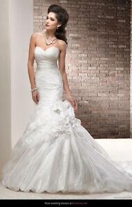 Maggie Sottero Organza Wedding Dress