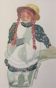 Frances Turner - Anne of Green Gables Watercolour