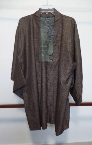 Vintage Japanese Silk Haori, Jacket, Dragon, Kimono