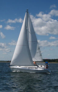 HUNTER 28.5 sailboat