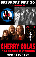 LIVE Tributes to THE WHO and RUSH