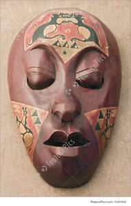 wanted wood western eastern wall masks(SMALL,MED,LARGE,XLARGE