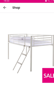 Single mid sleeper bed