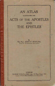 An Atlas Illustrating the Acts of the Apostles and the Epistles