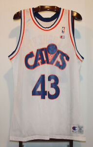CHAMPION BRAD DAUGHERTY CLEVELAND CAVALIERS  BASKETBALL JERSEY