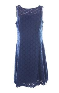 Brand new RONNI NICOLE blue sheath dress size 8