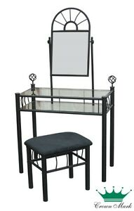Glass Vanity Set