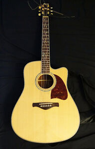 Ibanez AW40ECE-NT Limited Edition / Rare Acoustic Guitar