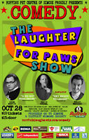 Ruffin's of Simcoe presents The Laughter For Paws Show