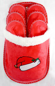 Christmas Guest Slippers Holder 6 Pairs