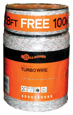 Gallagher Electric Fence Wire 1612 Ft. White