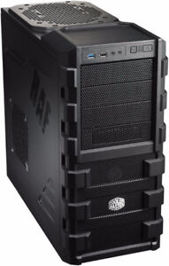 Cooler master tower case with 500watt PS and DVD burner
