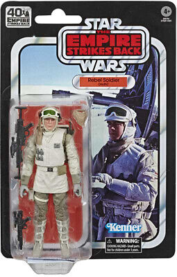 "Star Wars Black Series Rebel Soldier Hoth 40th Anniversary 6"" Action Figure"