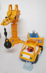 Vintage 1998 SHELCORE Construction Truck with Light and Sound