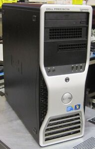 DELL T5500 2x 6 CORE E5645 2.40Ghz 36GB 1xSSD 250 Gig+HDD 500Gig