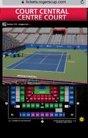 Men's Rogers Cup Tennis Tickets - Section 218 Row A