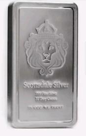 Scottsdale Silver 10 oz lion stacker