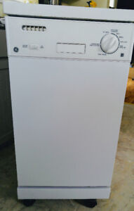 (SOLD) GE 18in Portable Dishwasher