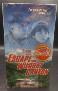ESCAPE FROM WILDCAT CANYON VHS MOVIE